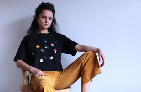 LB2 STUDIO Hippiemess Crop T-shirt