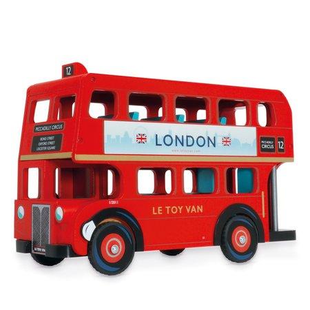 Kids le toy van wooden london bus