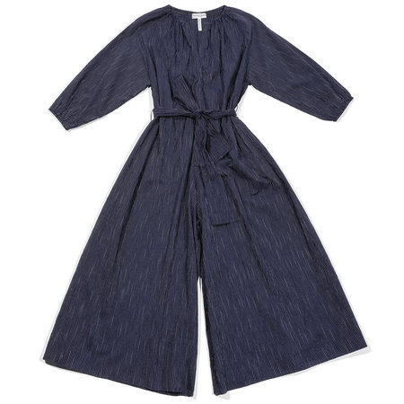 Apiece Apart Isla Wide Leg Jumpsuit - Navy