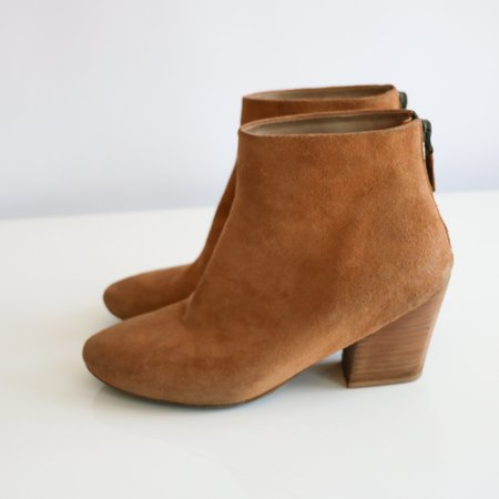 [pre-loved] Marsèll Ankle Boots - Tan