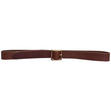 Girls of Dust Leather Belt - Brown