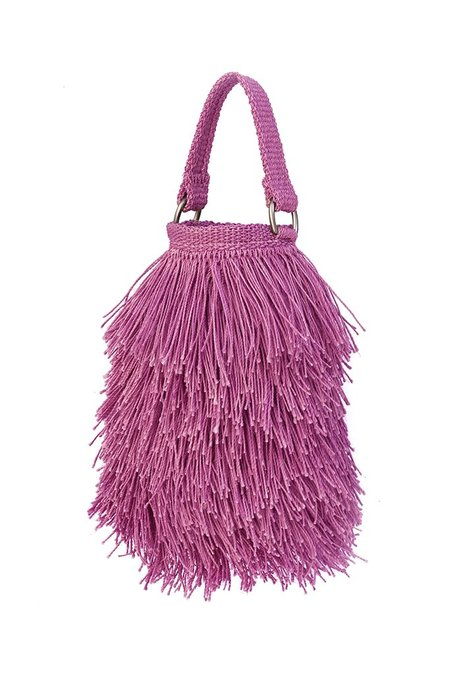 Angela Damman Bruja Bucket Bag - Pink
