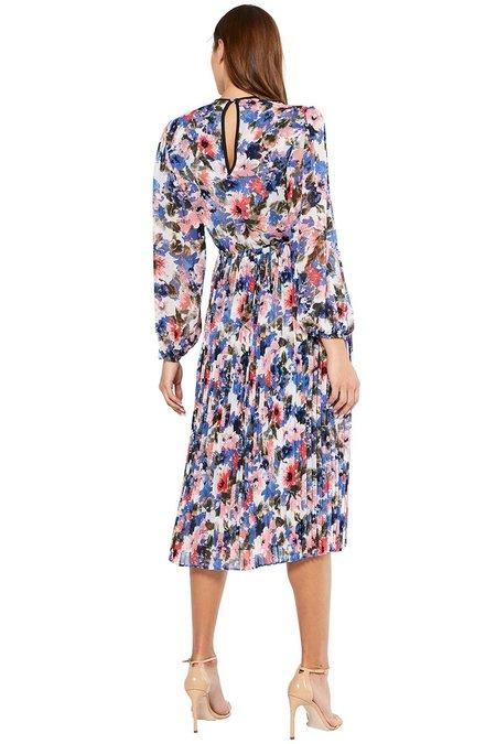 Misa Los Angeles Juliana Dress - Tie Dye Floral