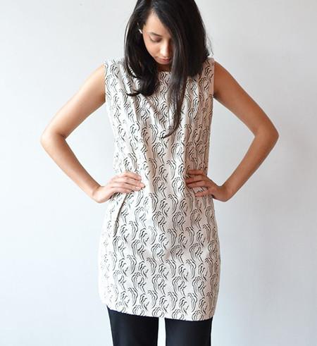 Ilana Kohn Clouds Kate Mini Dress