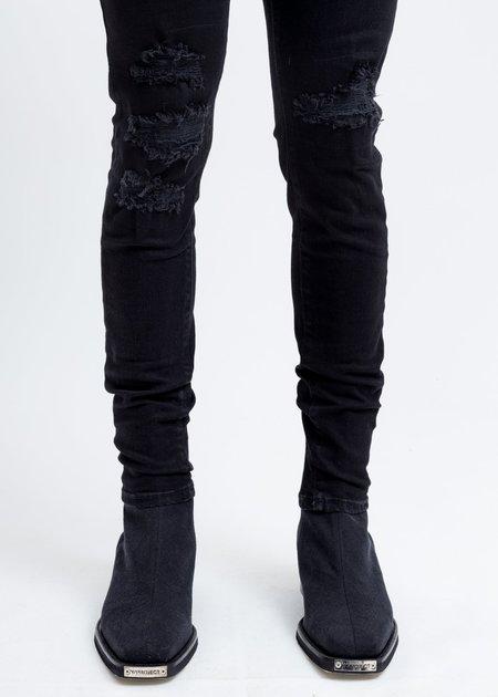 Represent Black Underwork Denim Jeans