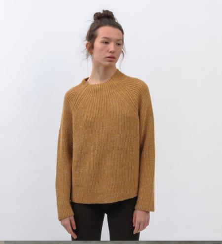 Aymara Ivette Sweater - Curcuma/White