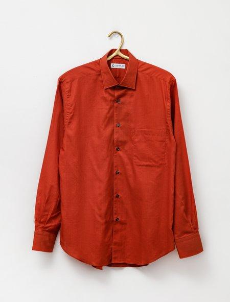 Cobra SC Replica Shirt - Rust Jacquard Stripe