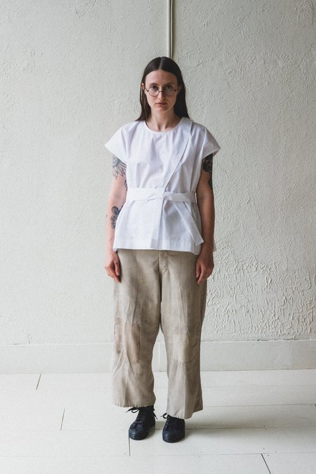 Nehera Bip Cotton Shirt - White