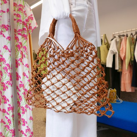 Little Liffner Knotted Tote with Pouch