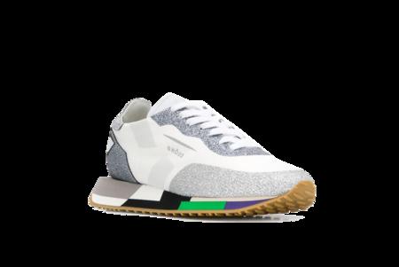 Ghoud Primavera Estate Star Low Mesh Sneakers - Glitter