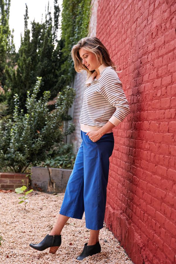 LOUP Striped Holly Sweatshirt