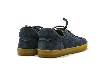 Officine Creative Oliver Blue Print Karma Sneaker - Blue