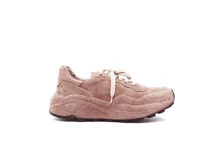 Officine Creative Sphyke Velvet Glamour Sneaker - Blush
