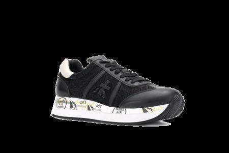 Premiata Conny Sneaker - Black/White