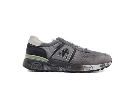 Premiata Lander Sneaker - Grey/Sage