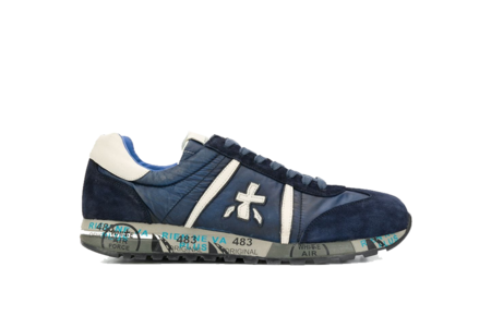 Premiata Lucy Sneaker - Navy/Blue