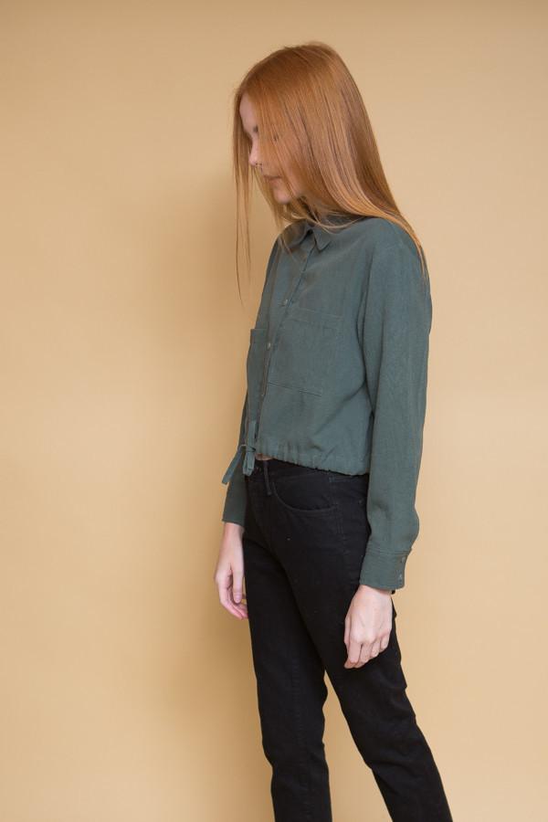 First Rite Tie Work Shirt - Jade