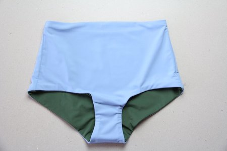 The Summer House Ivi Bottom - Forest Green/Sky Blue