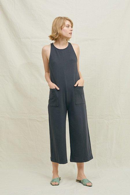 BACK BEAT RAGS Hemp Everyday Jumpsuit - Vintage Black