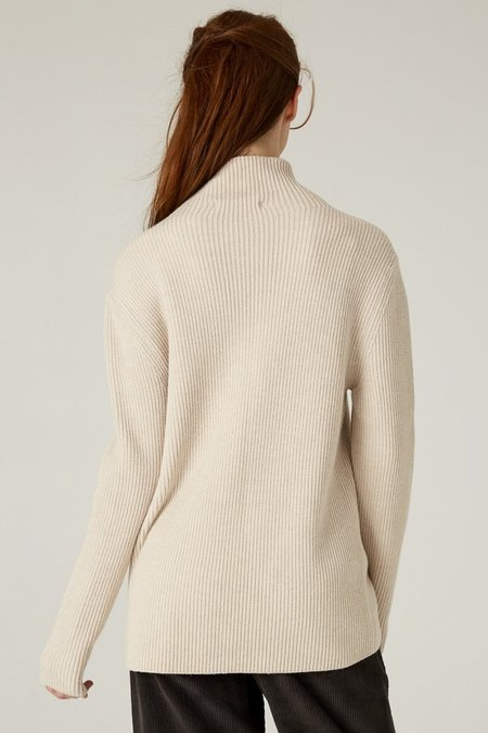 Filosofia KRISTEN MOCKNECK SWEATER - Light Taupe