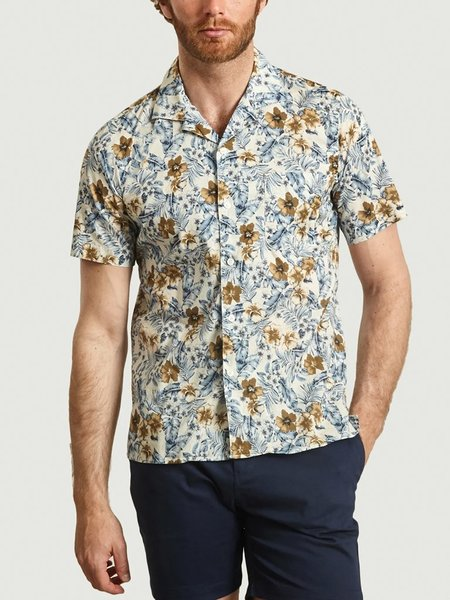 Hartford Slam Shirt - Blue/Beige