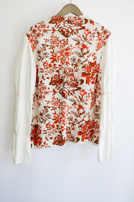 [pre-loved] JW ANDERSON Printed Blouse - Multicolor