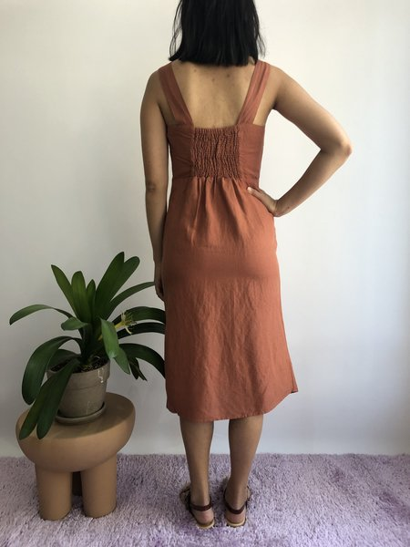 RD STYLE ROUILLE Dress - RUST