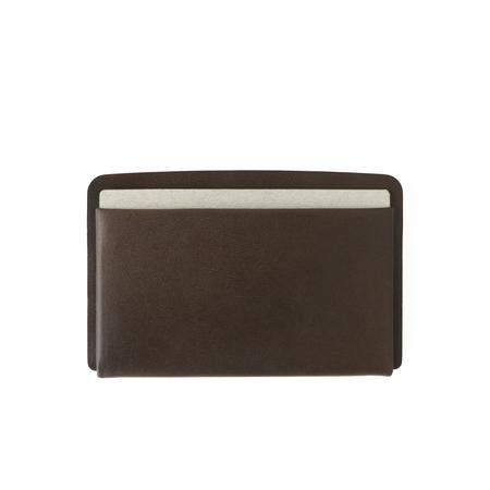 MAKR Loop Landscape Cardholder - Bark Chromexcel Horween® Leather