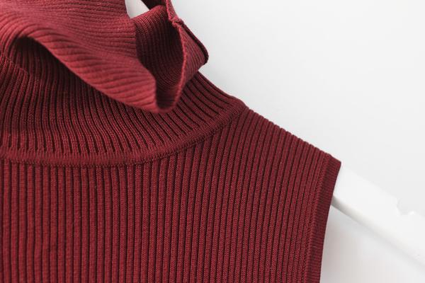 Hey Jude Vintage Knit Sleeveless Turtleneck