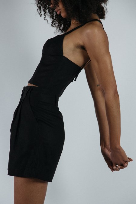 Angie Bauer Jewel Shorts - Black