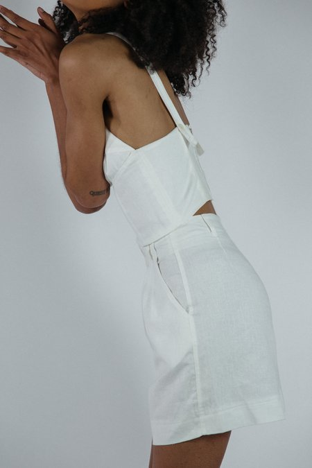Angie Bauer Jewel Shorts - White