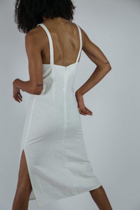 Angie Bauer Olivia Dress - White