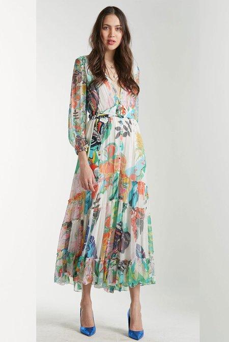 Rococo Sand Long Quinn Dress