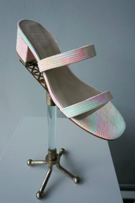 Maryam Nassir Zadeh Frida Slide - neon ray