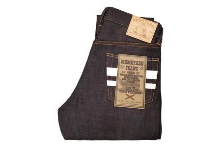 Momotaro Jeans 15.7oz GTB High Tapered Jeans - Deep Indigo