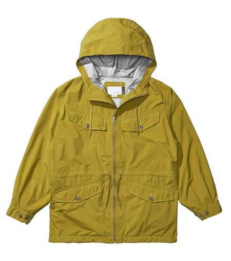 Nanamica GORE TEX Cruiser Jacket - Mustard