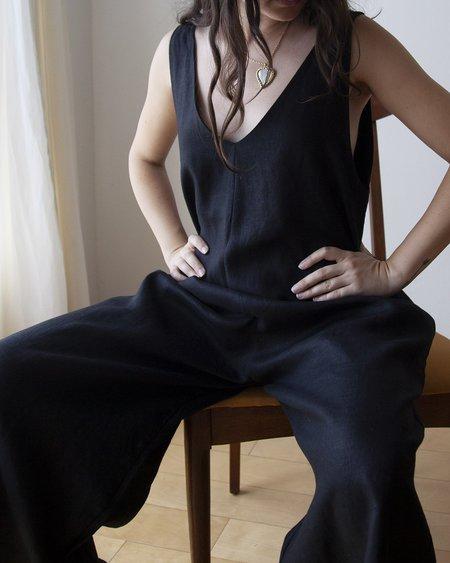Ozma Vanessa Romper - Black