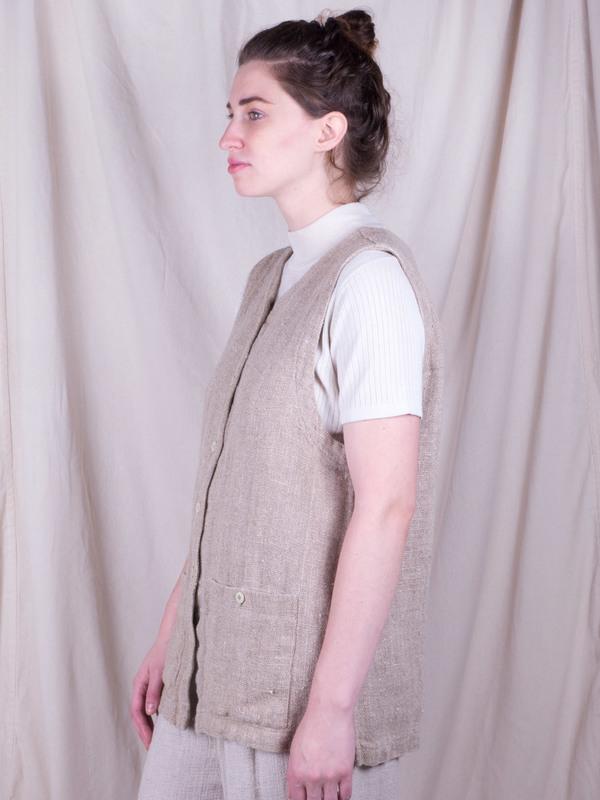 DUO NYC Vintage Jute Vest