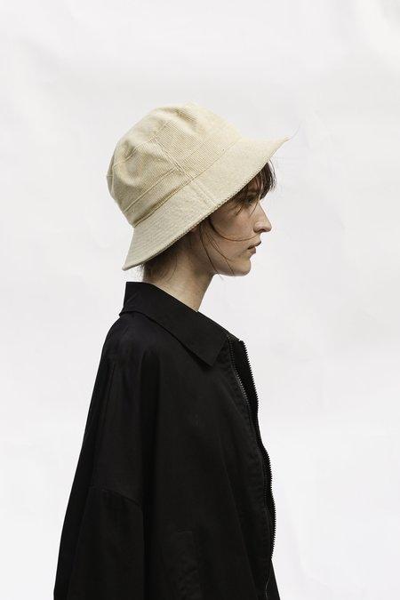 WYETH DESI Cord Bucket Hat - Cream