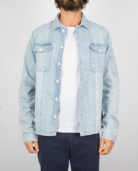 Portuguese Flannel Champ Denim Jacket - Light Blue