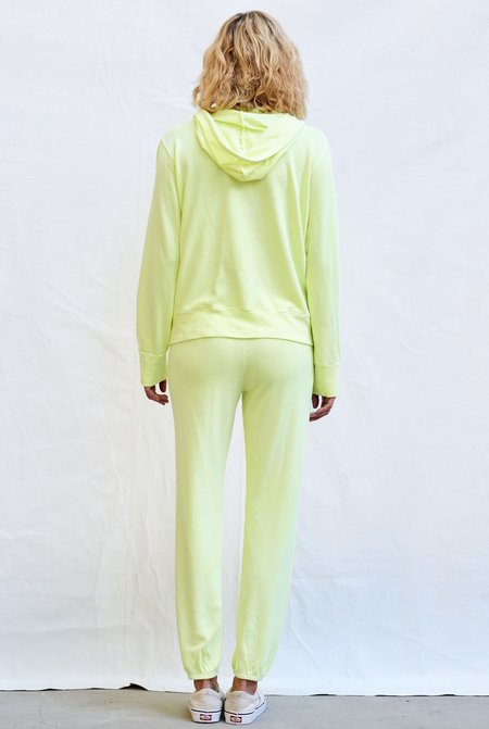 Sundry Basic Sweatpants - Pigment Pop Lime