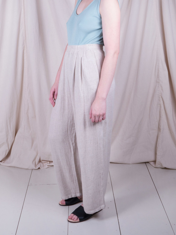 DUO NYC Vintage Linen Trousers