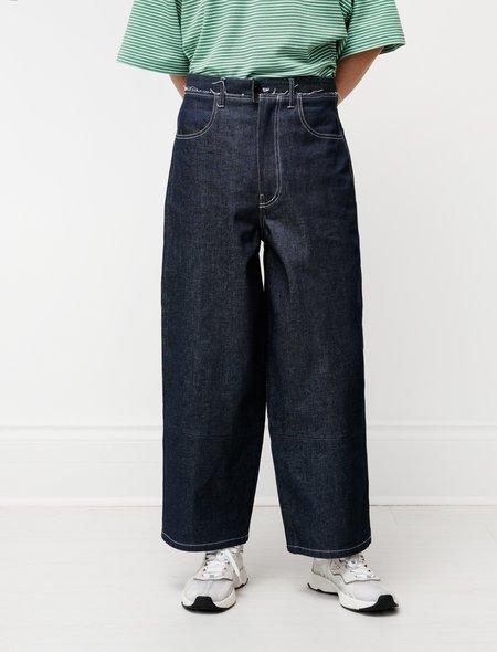 Camiel Fortgens Aubergine Denim Pants - Dark Blue