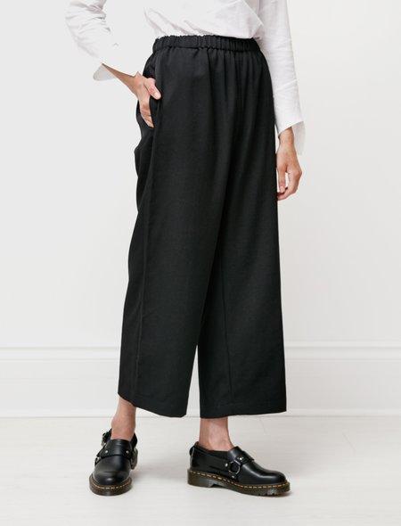 Comme des Garçons Classic Gabardine Elastic Waist Pants - Black