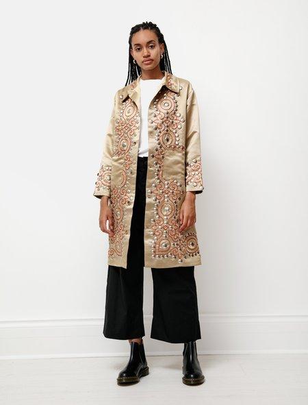 BODE Studded Satin Coat