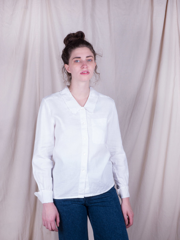 DUO NYC Vintage Liz Claiborne Linen Buttondown