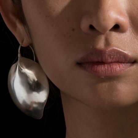 Ariana Boussard-Reifel omineca single earring - Silver
