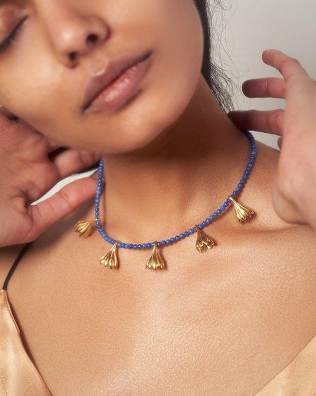 Pamela Love Anemone Pearl Necklace