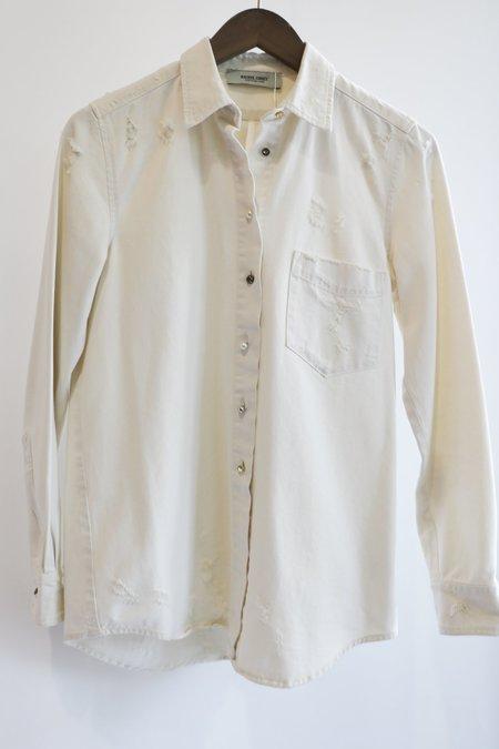 [pre-loved] Rachel Comey Button Up Shirt - Cream