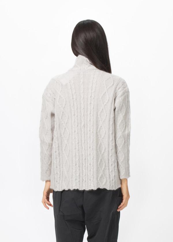 Manuelle Guibal Aran Knit Sweater